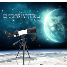 Jiehe 60-350 Teleskop ( KARA VE GÖKYÜZÜ TELESKOPU )